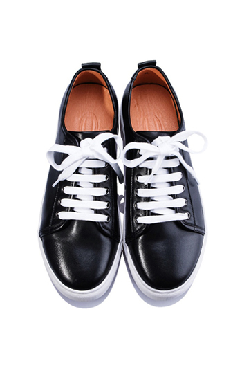 PREMIUM SHOES SNK_0112_BK